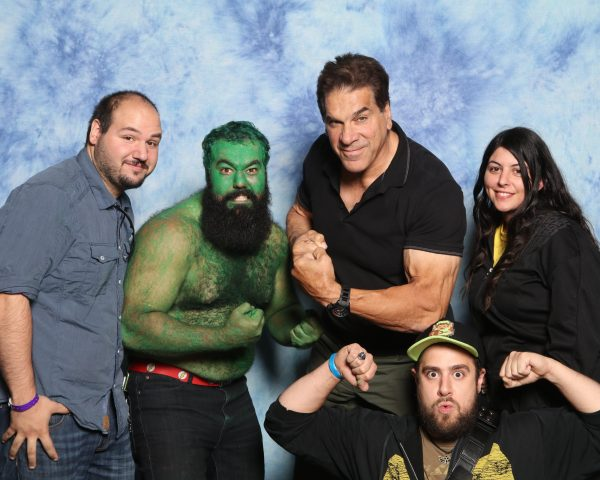 Lou Ferrigno Incredible Hulk Marvel Photo Op Epic Photo Buffalo comic con Nickel city con