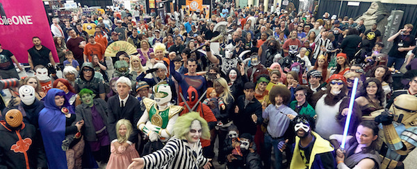 Cosplay Group Photo Nickel City Comic Con Buffalo NY Event
